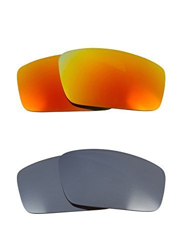 Primary image for New SEEK OPTICS Replacement Lenses Oakley SQUARE WIRE - Brown Yellow