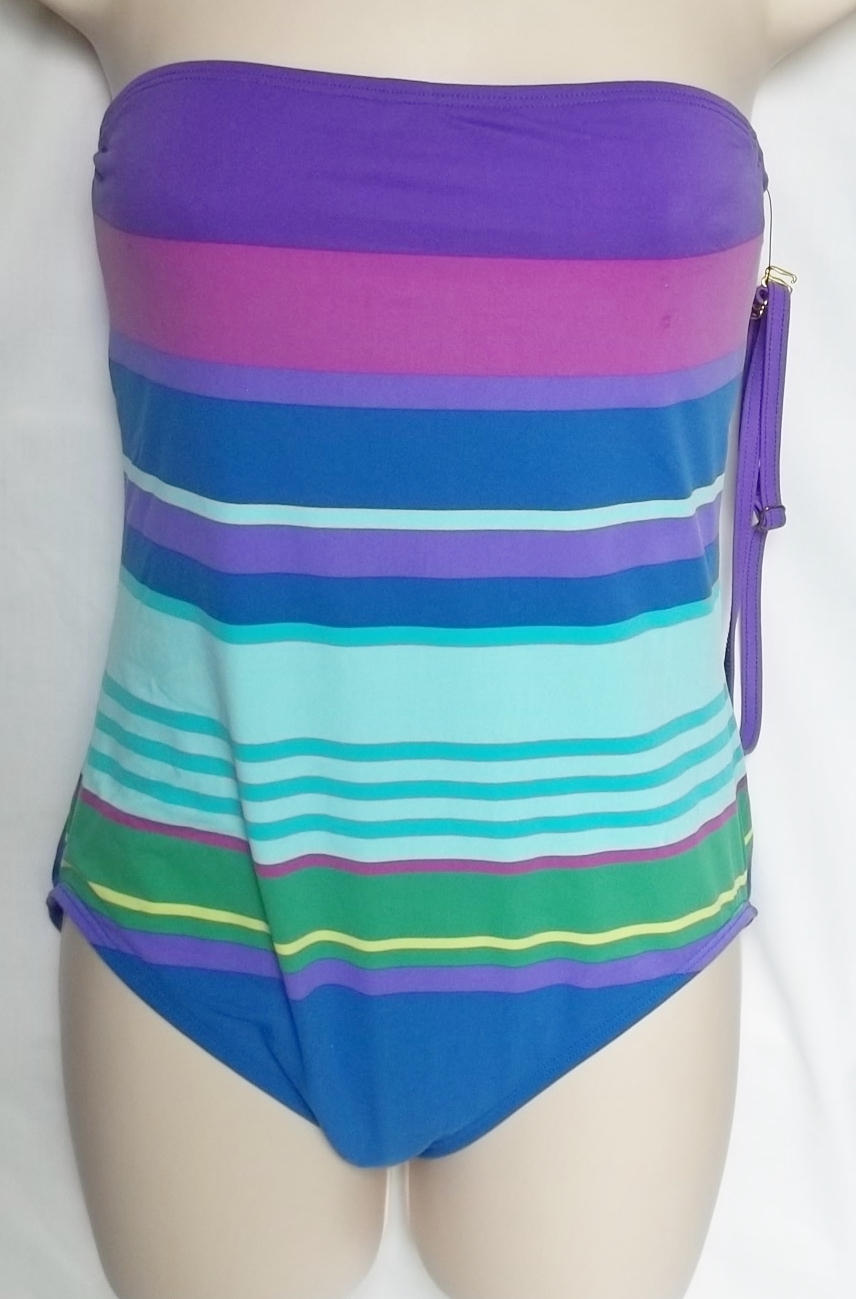 6fb7f6743e361 Liz Claiborne Bandeau One Piece,Size 8 and 23 similar items