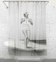 MONA LISA Vintage Style 180x180cm Milky PEVA Bathroom Use SHOWER CURTAIN... - $27.99