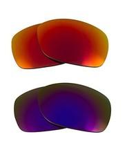 New SEEK Replacement Lenses Oakley SIDEWAYS - Polarized Purple Red - $31.17