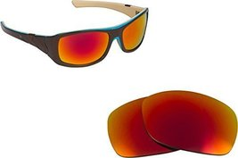 New SEEK OPTICS Replacement Lenses Oakley SIDEWAYS - Polarized Red image 1