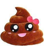 Emoji Plush Pillows (Girl Poop) - $15.67