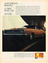 Vintage 1968 Magazine Ad Ford Todays Ford Just a Little Better Than Last Years - $5.93