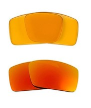 New SEEK OPTICS Replacement Lenses Oakley GASCAN S - HI Yellow Yellow - $23.25