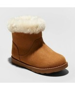 Toddler Girls' Oriole Shearling Boots - Cat & Jack™ Chestnut 8 - $10.00
