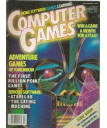ORIGINAL Vintage Computer Games Magazine July/Aug 1984 Atari - $18.49