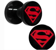 Superboy 5mm Screw Fit Plug Set - 4 Gauge - 4G Stainless Steel Licensed