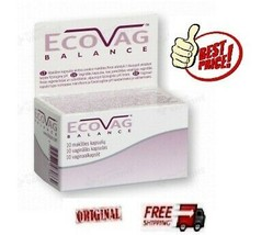 FREZYDERM ECOVAG Lactobacillus Vaginal Suppositories INTRAVAGINAL CARE 1... - $24.26