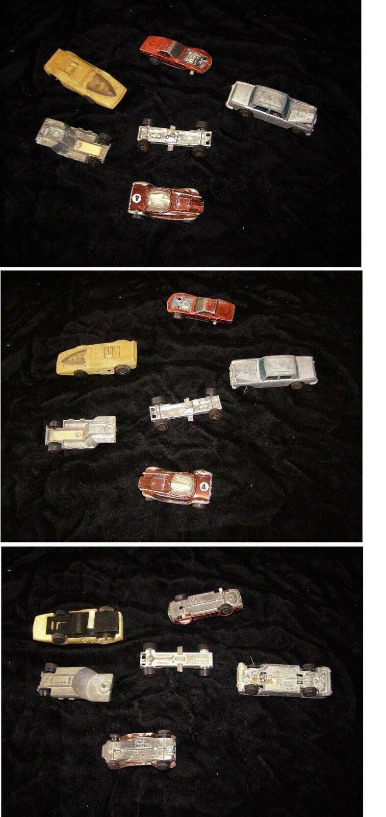 Mattel Hot Wheels Vintage Toy Car Lot Redline Sizzlers Diecast For Parts