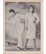 1983 Weiss Jonathan Hitchcock Kenneth's Ohio Sexy Vintage Fashion Print ... - $6.33