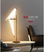 Perch Bird Light Table Desk Lamp LED Illumination Home Decor Lighting Fi... - $194.04
