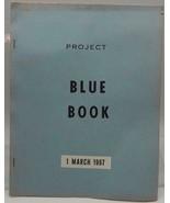 Vtg Project Blau Buch US Air Force USAF Investigation Von Ufo's 1 März 1967 - $158.76
