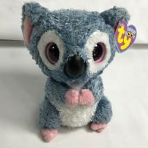 """Ty Beanie Boos ~ Rare KOOKY the Koala Bear Looped Tush Tag 6 Inch 6"""" Solid Eyes - $64.33"""