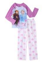 Disney Frozen 2 Girls' Elsa & Anna Pajamas PJs 2-Piece Set Size 4 / 5 NE... - $15.50