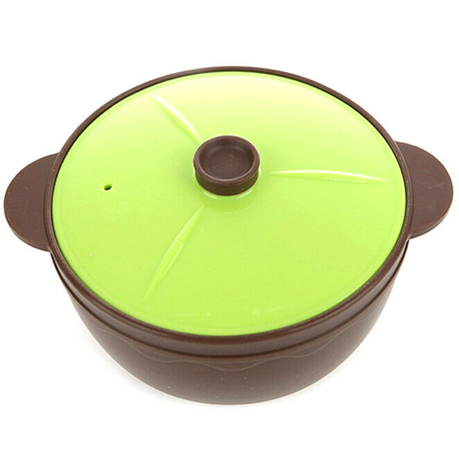 Incoc Microwave Silicone Stockpot Cooker Kitchen Cooking Pot 7 inches (Large)