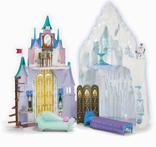 Disney Frozen Castle Play Set Toy Ice Palace Elsa Anna Princess Dollhou... - $199.00
