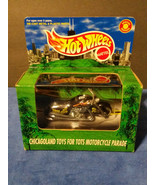 1998 Hot Wheels Chicagoland Toys for Tots Motorcycle Parade Scorchin Sco... - $9.45
