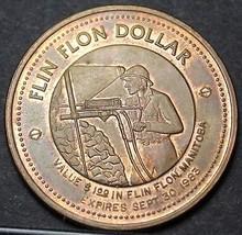 Flin Flon Manitoba Canada Trade 50th Anniversary Token Dollar 1983~UNC~F... - $8.01
