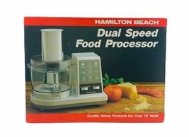 Hamilton Beach Dual Speed Food Processor 702w NOS Sealed in Box - $84.14