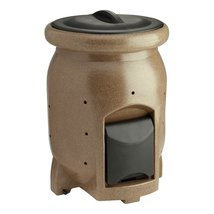 50-Gallon Compost Bin Composter with Compost Tea Collection Area - $326.72