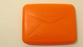 Little Tikes replacement orange letter mail envelope for mail box walker... - $6.92