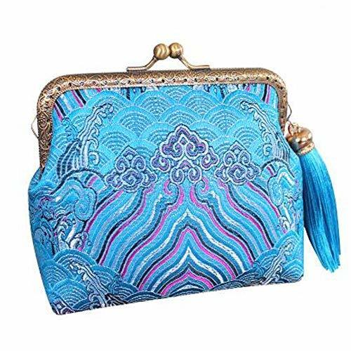 Coin Wallet Chinese Style Purse Pouch Change Purse Tassels Handbag Great Gift