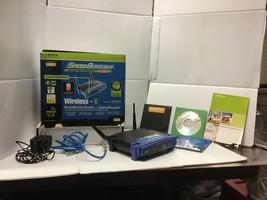 Linksys 1-Port 10/100 Wireless G Router (WRT54G) - $21.24