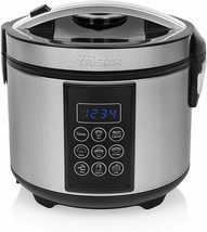 TRISTAR RK-6132 Ricer Digital And Multicooker 50.7oz Function Keep The Heat - $177.75