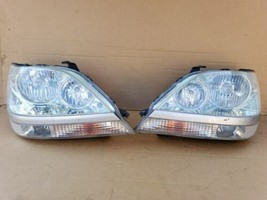 99-03 Lexus RX300 HID Xenon Headlight Lamp Matching Set Pair L&R - POLISHED image 1