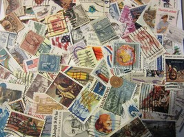 US postage stamp lots ALL DIFFERENT USED 10, 13, 15 to 19 CENT FREE SHIP... - $4.94