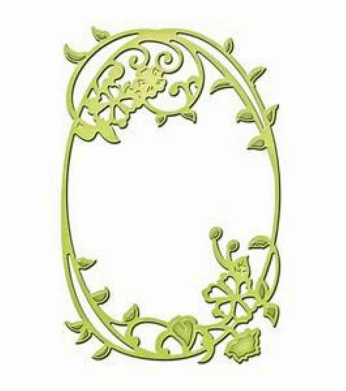 Spellbinders Die D-Lites Framed Floral Die #S2-110