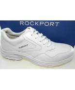 ROCKPORT PROWALKER CATALYST 3 MEN'S WHITE LEATHER WALKING SHOES WIDE(W),... - $76.49