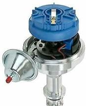 Pro Series R2R Distributor for Ford I6 Engine, 5/16 Hex Shaft, Blue Cap image 2