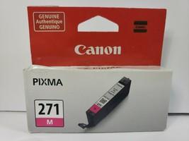 NEW Canon Pixma 271 Magenta Printer Ink Cartridge 0392C004 CLI-271 M Magenta - $6.68