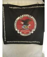 National Rifle Association Logo Blanket Wall Hanging NRA Logo Amendment ... - $39.59