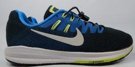 Nike Zoom Structure 20 Size 12 M (D) EU 46 Men's Running Shoes Blue Green