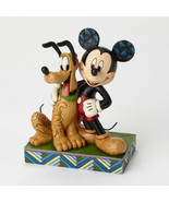 """6"""" """"Best Pals"""" Mickey Mouse & Pluto Figurine - Jim Shore Disney Traditions - $59.54"""