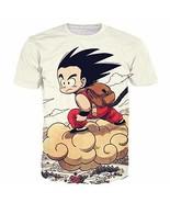 Johoproce Summer Unisex Dragon Ball Goku Short Sleeve T-Shirts Creative ... - $18.05