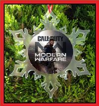 Call Of Duty Christmas Ornament - X-MAS Snowflake Ornament - $12.95