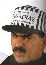 ALCATRAZ CAP BLACK & WHITE STRIPE - $7.00