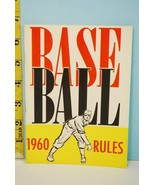 NFHS 1960 Baseball Rules & Handbook National Alliance Ed. High School Co... - $9.99
