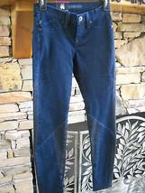 ROCK & REPUBLIC Kylie Bruised Black & Blue Legging Style Denim Jeans Size 0 - $19.11
