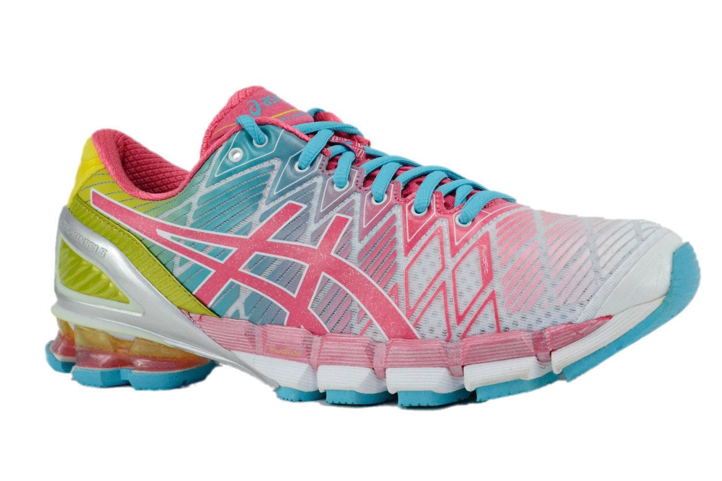 Primary image for Asics Gel Kinsei 5 White Teaberry Yellow T3E9Y 0122 Womens Running Shoes
