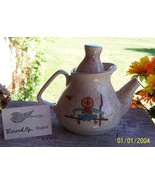 Red Wing Pottery Collector's Society 2006 Round Up Teapot,Tea Pot  - $78.00