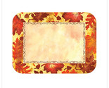 Autumn Leaves 13 5/8 x 18 3/4 Seasonal Healthcare Traymats/Case of 500