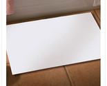 13 7/8 x 21 1/4 White Bathmat/Case of 500