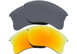 New Seek Replacement Lenses Oakley Half Jacket 2.0   Black Yellow - $23.25