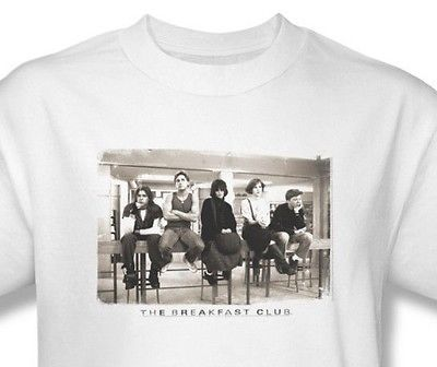 The Breakfast Club T-shirt classic 80's movie 100% cotton graphic tee UNI559