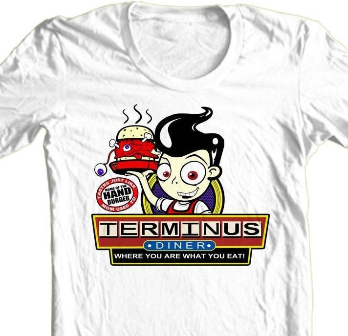 TERMINUS The Walking Dead T-shirt zombie TV show 100% cotton graphic tee