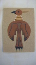 Colorful Navajo Sand Art Eagle by Nancy Price from New Mexico - $31.67